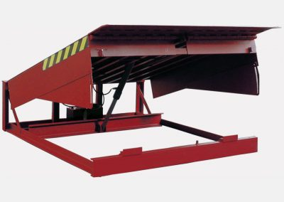 hydraulic levellers with swing lip