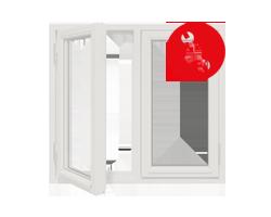window logo pilkas rem
